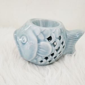 Other - Candle wax melt fish blue in color